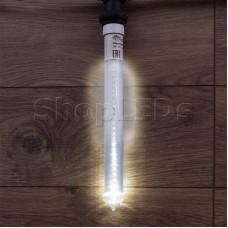 Сосулька светодиодная 30 см, 220V, e27, двухсторонняя, 24х2 диодов, цвет диодов белый