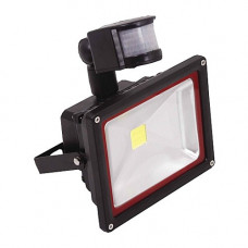 Прожектор с датчиком движения теплый 20W 180*215*110 WW