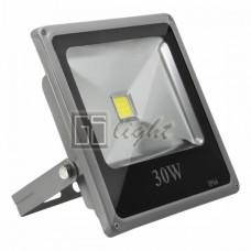 Светодиодный прожектор SLIM 30W 220V IP65 White